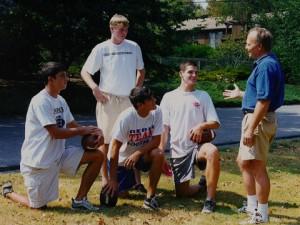 Steve teaches quarterbacks